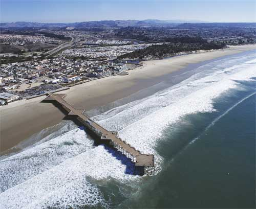 The Pier of Pismo Beach