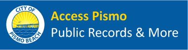 Access Pismo Records Portal Logo