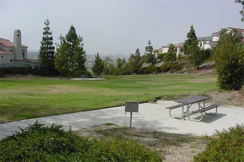 Picnic area in Highland Park