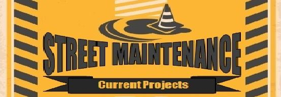 Street Maintenance Projects Button