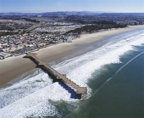 pismo beach ca official site pismo state beach pier pismo beach 500x409