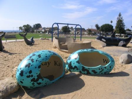 Dinosaur Park Eggs