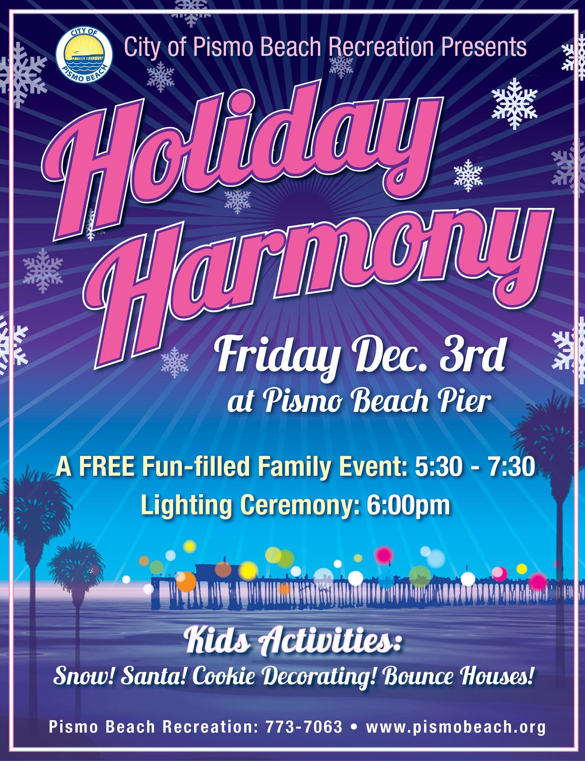 Holiday Harmony flyer 2021